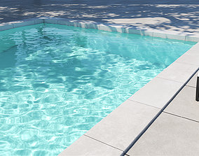 3D model 2 Versions Animated Pool Summer Vibes