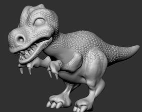 Baby Rex 3D print model dino