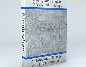 Birmingham Streets and Buildings 3D
