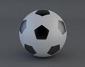 3D model player Soccer Ball