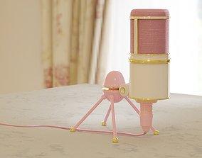 Condenser Microphone 3D model