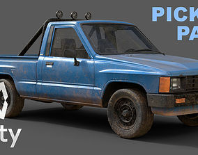 low-poly Unity 3D Vehicle Pack