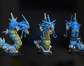 3D printable model Gyarados