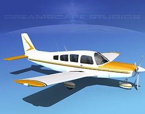 Piper Cherokee Six 260 V02 3D