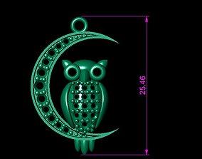 OWL NECKLACES 3D printable model