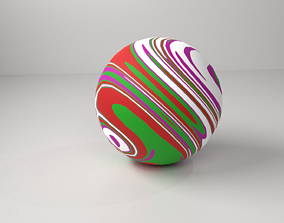Rubber Ball 3D model