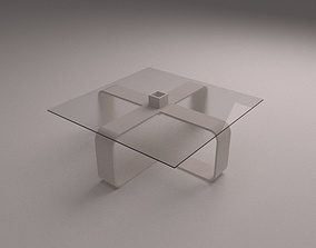 smalltable 3D model modern coffee table