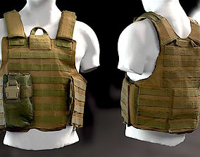 SOLDIER Bulletproof Vest 03 3D model