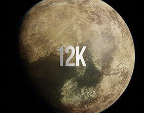 brown 3D Planet Muf Bel 12K