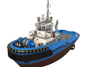 3D model Tugboat ASD 2810