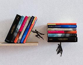 Superman shelves 3D model