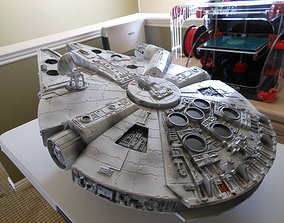 3D print model battlestar Millennium Falcon