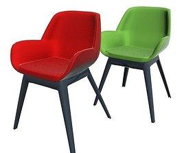 3D model Kartell Clap Chair