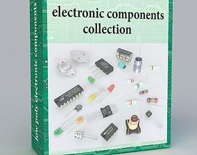 3D model electronic components
