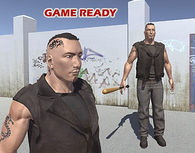 3D asset Tough guy