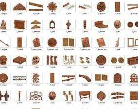 25Gb 3D stl models ready to use in your cnc rigged 2