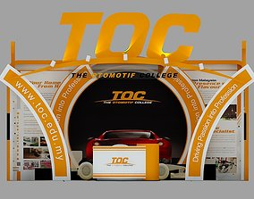 TOC Exhibition 6x6 Booth 3D model