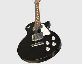 Classic Electric Guitar 3D asset