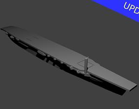 Japanese Aircraft Carrier Hosho 3D print model ship