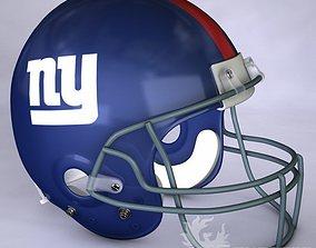 3D model New York Giants official game helmet