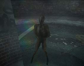 Lying Figure Silent Hill 2 Remake 3D asset