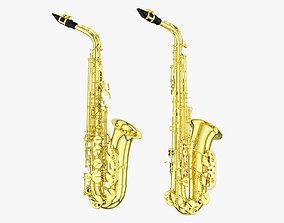 3D Saxophone instrument