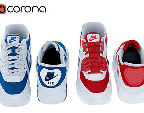 Air Max 90 Nike 3D model