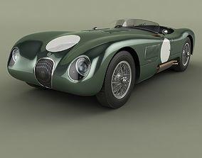 Jaguar C-Type 3D