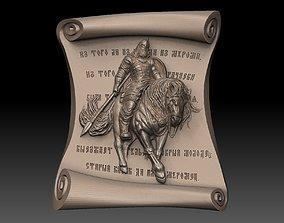 Slavic Warrior 3D print model