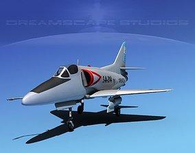 3D Douglas A-4D Skyhawk Argentina