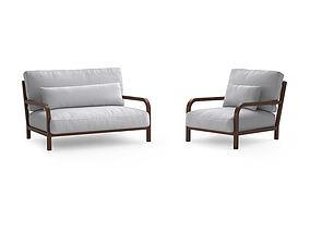 3D Linteloo Dario sofa and armchair