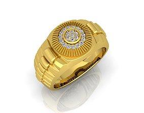 ring Rolex Mens Ring 01 3D printable model
