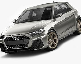 3D model Audi A1 2019 hatchback