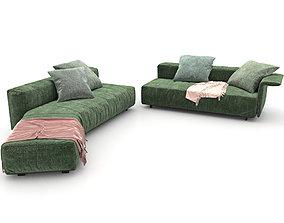 07 Sofa Minotti Lounge Freeman 3 3D