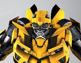 Komaro Bumblebee and car model