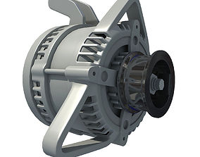 3D model Automobile Alternator