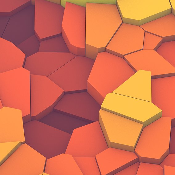 Fractured Tiles