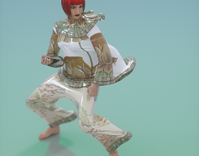 3D Chinese Outfit