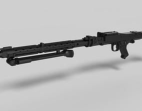 Stormtrooper Heavy Blaster Rifle DLT 19 3D print model 2