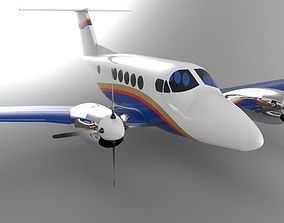 Beechcraft King Air B200 GT 3D