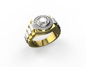Gold N576 brilliant 3D print model