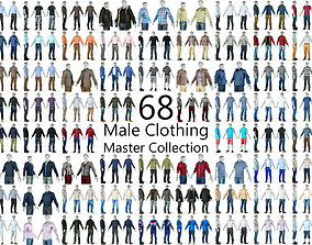 Master Collection 68 Casual Sports and Business 3D model 1