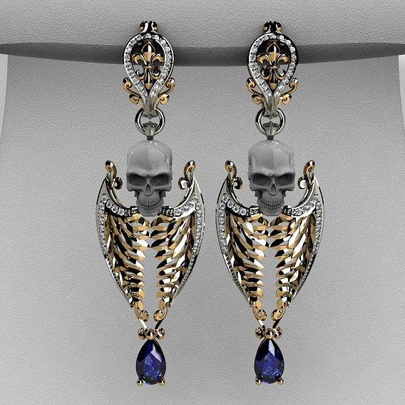 """Earrings """"chimera"""""""