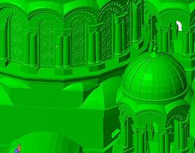 Soboras Iconic church of Kaunas 3D printable model
