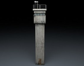 Berlin Wall Guard Tower v2 3D model