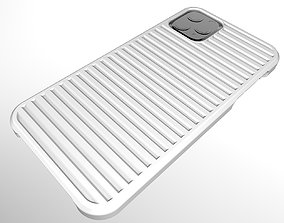 3D print model iPhone 11 Pro Max Case Line