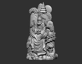 bodhidharma 3D model 3d