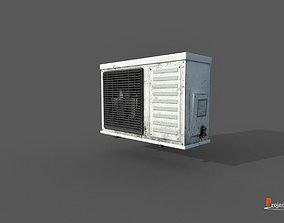 Air conditioner V01 3D model