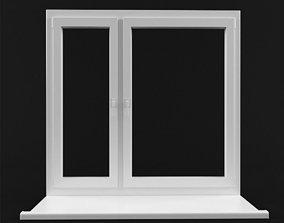 3D model glass Window