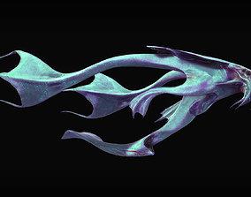 Aquatic Alien 3D model